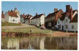 FINCHINGFIELD FROM THE POND - England