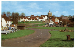 FINCHINGFIELD : THE VILLAGE CENTRE - England