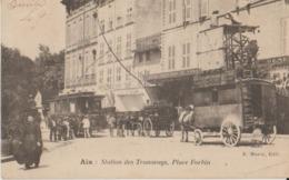 13 Aix Station Des Tramways Place Forbin Superbe - Aix En Provence