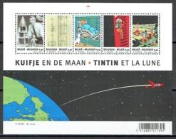 Bande Dessinée : Tintin Et La Lune - Blocs 1962-....