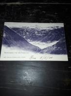 Cartolina Postale, Postcard, 1900, Berneralpen Von Der Furka Aus - NE Neuchatel