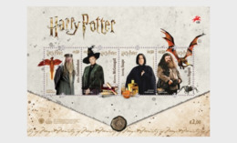 Portugal 2019 - Harry Potter Miniature Sheet Mnh - 1910 - ... Repubblica