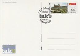 DENMARK 2010 FRAMA TAK10 Hillerød: Souvenir Card CANCELLED - Vignette Di Affrancatura (ATM/Frama)