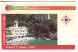 ITALY - Abbazia Di S.Fruttuozo/Portofino, VIA Card(autostrade) L.50000, Exp.date 31/12/01, Used - Andere Sammlungen