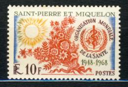 1963/68 St.Pierre & Miquelon MNH OG Stamp Yt.# 379 - Unused Stamps