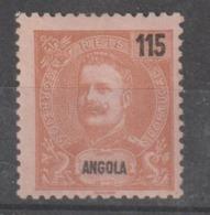 ANGOLA CE AFINSA 84 - NOVO COM CHARNEIRA - Angola