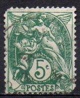 FRANCE N° 111d O Y&T 1900-1924 Type Blanc - 1900-29 Blanc
