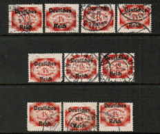 BAVARIA  Scott # O 66 USED WHOLESALE LOT OF 10 (WH-315) - Lots & Kiloware (mixtures) - Max. 999 Stamps