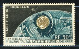 1959-63 St.Pierre & Miquelon MNH OG Airmail Stamp  Yt.# A29 - St.Pierre & Miquelon