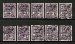 MALTA  Scott # 156 USED WHOLESALE LOT OF 10 (WH-319) - Lots & Kiloware (mixtures) - Max. 999 Stamps