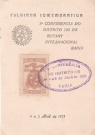 Rotary BRASIL District Conference 1951 - Rotary, Club Leones