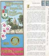 Rotary COLOMBIA District Conference 1952 - Rotary, Club Leones