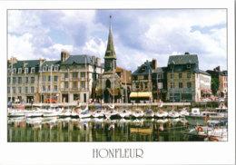 Kt 874 / Honfleur, Le Vieux Bassin, Le Quai Saint-Etienne Et L'eglise Saint-Etienne - Honfleur