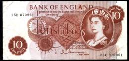 GRAN BRETAÑA 10 SHILLINGS AÑO 1970 UNC - 1952-… : Elizabeth II