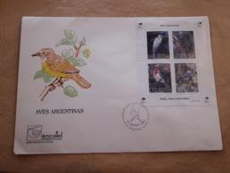 Argentine FDC, Oiseaux Argentins 1993 - FDC