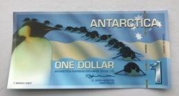 ANTARTICA P4  1 DOLLARS 03.2007 UNC - Banknoten