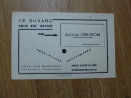 BUVARD  JULIEN GRUSON PHARMACIEN - Produits Pharmaceutiques