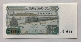 ALGERIA P132A 10 DINARS 1983 UNC - Argelia
