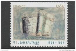 FRANCE 2014 JEAN FAUTRIER LES BOITES DE CONSERVE  NEUF** MNH +BDF YT 4888    -                         TDA264 - France