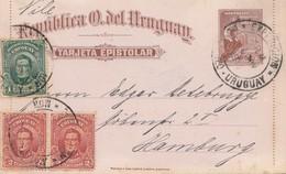 Uruguay 1911: Montevideo To Hamburg - Uruguay