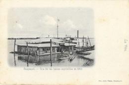 Guayaquil (Equator, Equateur) Una Del Las Balzas (balsas) Suprimidas En 1903 - Postal La Viña No Circulada - Ecuador
