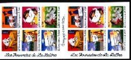 BC 9 Carnet Adhésif Les Journées De La Lettre, Le Voyage D'une Lettre Année 1997 Valeur Faciale 5,48 € - Carnets