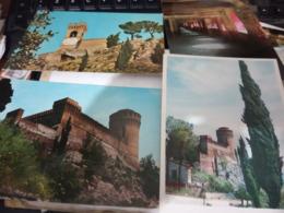 4 CARD  BRISIGHELLA  VEDUTE VARIE CASTELLO TORRE OROLOGIO  E BORGO   N1975> HF767 - Ravenna
