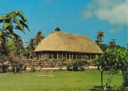 Samoan Fale - Village Of Pava'ia'i, American Samoa - Unused - Samoa Americana