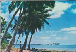 From The Eastern Side Of Tongatapu With The City Of Nuku'alofa Distant, Tonga - Unused - Tonga