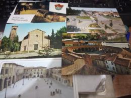 5 CARD  BAGANACAVALLO VEDUTE CHIESA  PIAZZA ECC   N1985< HF769 - Ravenna