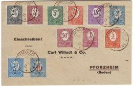 Allemagne HAUTE SILESIE Occupation Francaise , Lettre Superbe Du 19 Mai 1920 - Poststempel (Briefe)