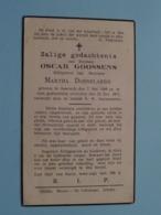 DP Oscar GOOSSENS ( Martha Dobbelaere ) Assenede 7 Mei 1888 - Gent 22 Mei 1937 ( Zie Foto's ) ! - Décès