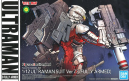 Ultraman Suit Ver 7.3 ( Fully Armed )    1/12  ( Bandai ) - SF & Robots