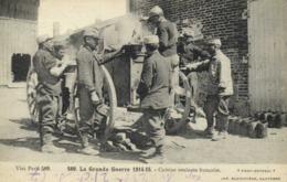 Militaria La Grande Guerre 1914 15 Cuisine Roulante Francaise RV - Guerra 1914-18