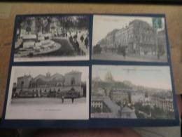 PARIS Lot De 8 Cartes Postales Anciennes Et Authentiques , Lire La Description , Merci - Postkaarten