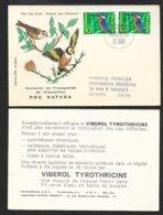 Suisse  Carte Illustrée  FDC Premier Jour Bern 21/02/1966 N°766 X 2 Publicité Médicaments TB Le Moins Cher Du Site ! - Pharmacy