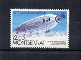 Montserrat - 1983 - 200 Anni Manned Flight  - $ 2.00 - Nuovo - Linguellato * - (FDC17388) - Montserrat