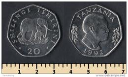 Tanzania 20 Shilingi 1992 - Tansania