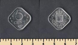 Netherland Antilles 5 Cents 1985 - Antille Olandesi