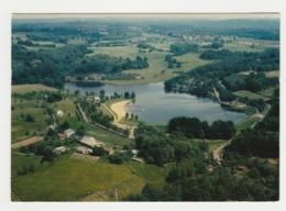 19 Vigeois Vers Uzerche Vue Panoramique Sur Le Plan D'eau Postée à Objat En 1990 - Uzerche