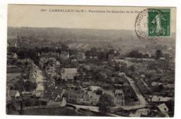 Cpa N° 2351 LAMBALLE Panorama Du Quartier De La Gare - Lamballe