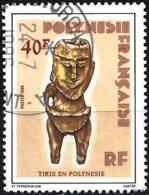 French Polynesia 1985 - Mi 420 - YT 229 ( Polynesian Statuette ) - Polynésie Française