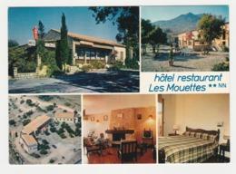Haute Corse LOZARI Vers Calvi Ile Rousse Hôtel Restaurant Les Mouettes En 5 Vues Tabac Télé Ancienne Chien - Calvi