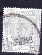 Malaiische Staaten V - Perlis - Sultan Von Kedah (MiNr: 12) 1951 - Gest Used Obl - Sabah