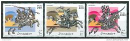 2003 Somalia Cavalieri Con Armature Set MNH** Excellent Quality - Somalia (1960-...)