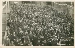 43 Retournac Jubilé 1932 Carte Photo - Retournac