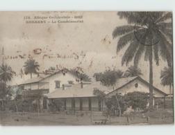 Guinée KONAKRY ... Le Commissariat (Fortier 178) Timbre Décollé, Traces D'encre - Guinée Française