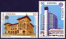 España. Spain. 1990. EUROPA Cept. Edificios Postales - Europa-CEPT