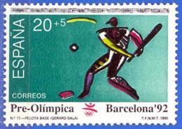 España. Spain. 1990. Juegos Olimpicos. Barcelona. Pelota Base. Baseball - Baseball