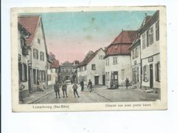 Lauterbourg Grande Rue Avec Porte Basse - Lauterbourg